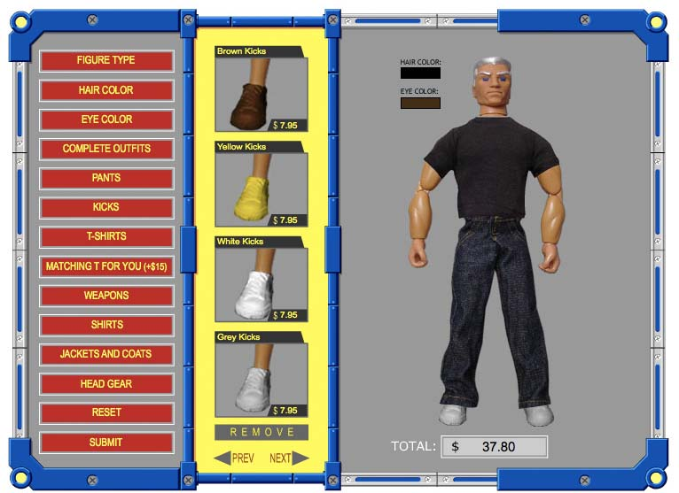 Build Your Own Action Figure